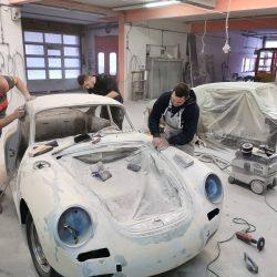 Avtoličarstvo in avtokleparstvo priprava