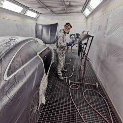 Car painting and car body repairs