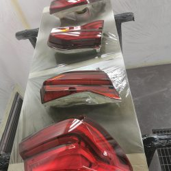 2.Car headlights tinting – after