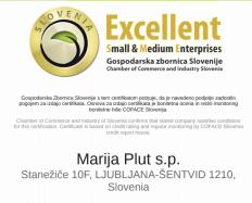 Avtoličarstvo Plut certifikat